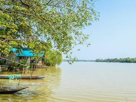 Bang Pra Kong river in chachoengsao