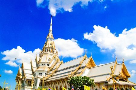 Wat Sotorn Taram Worrawihan at Chachoengsao, Thailand photo