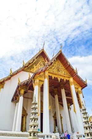 Wat Suthat in Bangkok Thailand