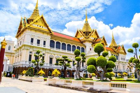 Thai Ancient Art at Wat Phra Kaew in Thailand photo