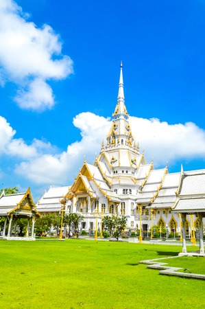 chachoengsao: Wat Sothon Taram Worawinhan in Chachoengsao Thailand Stock Photo