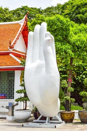fingers statue 版權商用圖片