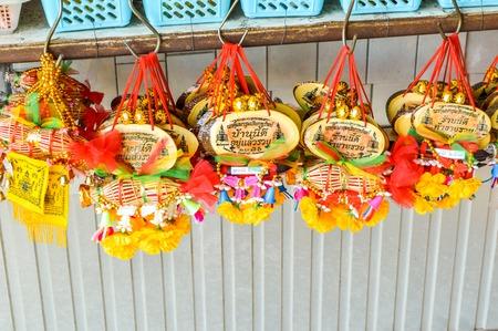 souvenir in Wat Sothon temple