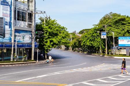 road in bangkok city Thailand