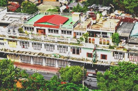 Building in bangkok city Thailand 版權商用圖片