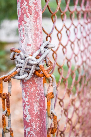 palisade: chain on palisade