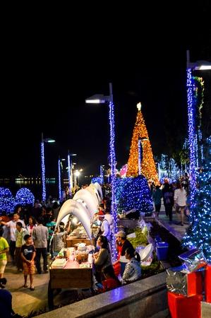 chachoengsao: Christmas season in Chachoengsao Thailand Editorial