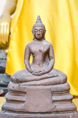 buddha statue in temple thailand