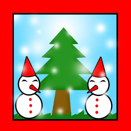 snowman cartoon: snowman cartoon