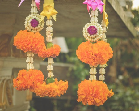 marigold: marigold garland