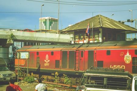train station in Bangkok Thailand