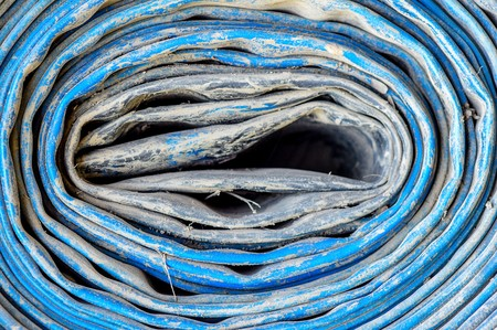 water hose: water hose Stock Photo
