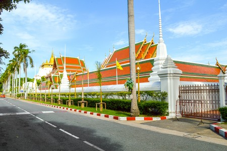 Wat Sraket in Bangkok city, Thailand
