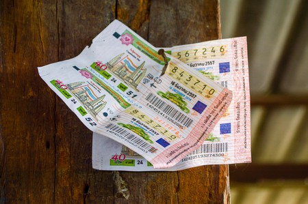 Lottery tickets thailand