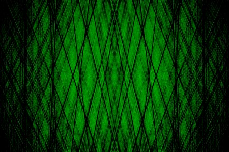 green lines: green abstract background Stock Photo
