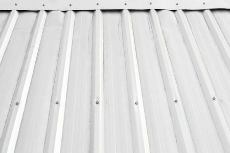 gray metal roof background Standard-Bild