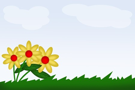 blumen cartoon: Blumen-Cartoon
