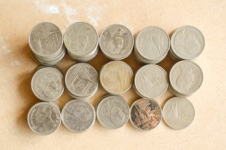 Coins of Thailand photo