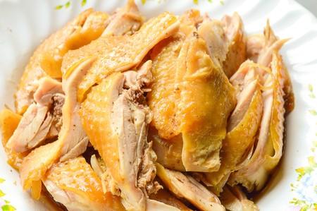 stewed: pot stewed duck Stock Photo