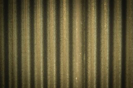背景の亜鉛壁 写真素材