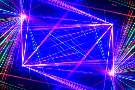 colorful: laser light Stock Photo