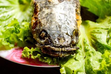 snakehead: crispy Fried Snakehead Fish