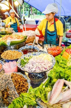 5 december: 5 December 2014  food shop in Suanluang Rama IX garden Bangkok Thailand