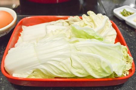 nappa: green Nappa cabbage Stock Photo