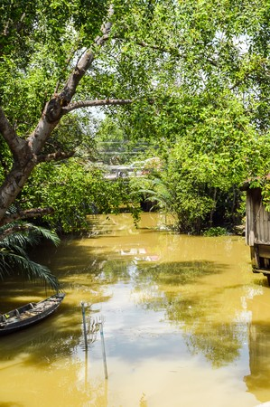 chachoengsao: canal in country Thailand, Chachoengsao
