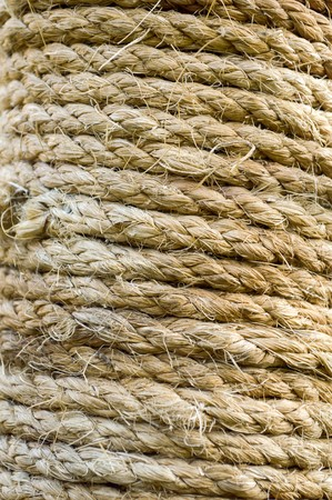 dirty: dirty rope Stock Photo