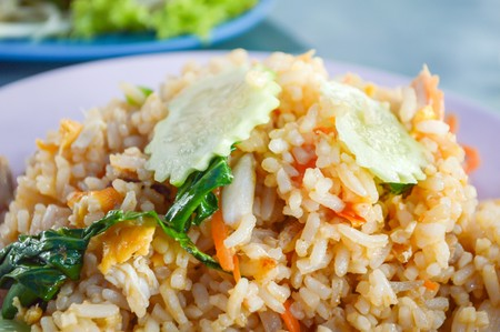 Thai fried rice (Thailand) photo