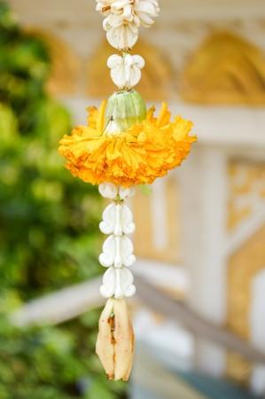 nautral: marigold garland