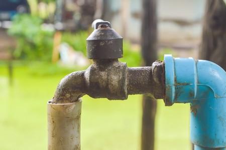 borne fontaine: borne dans le pays Tha�lande Banque d'images