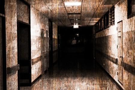 abstracte Horror pathway