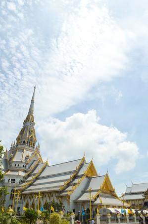 chachoengsao: Wat Sothon Taram Worawihan in Chachoengsao Thailand Stock Photo