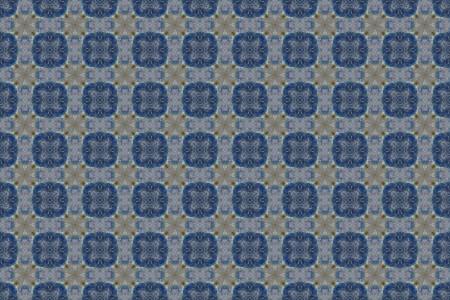 青の抽象的なパターン背景 写真素材