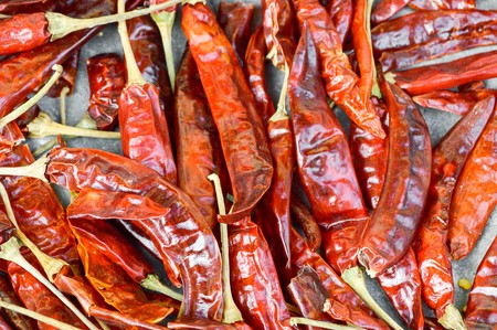 spicy: dry red spicy chili