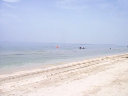 chonburi: Bang sean beach in Chonburi Thailand Stock Photo