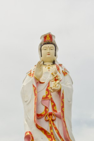 Statue of Guanyin in Thailand