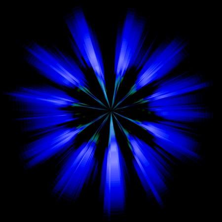 blue light effect