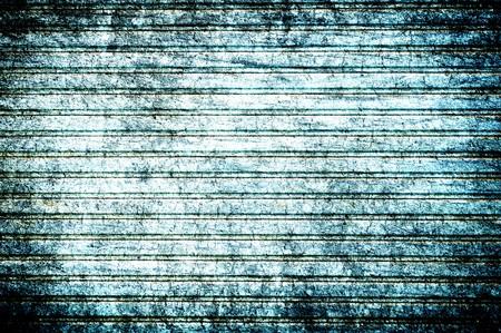 grunge blue abstract Sliding steel door texture background