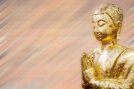 gouden Boeddhabeeld textuur achtergrond