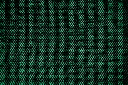 square detail: green fabric abstract background