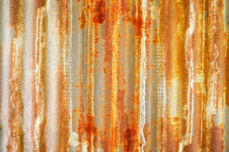 rusty zinc wall texture background