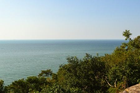 Vista en Chonburi Tailandia Foto de archivo - 40444011