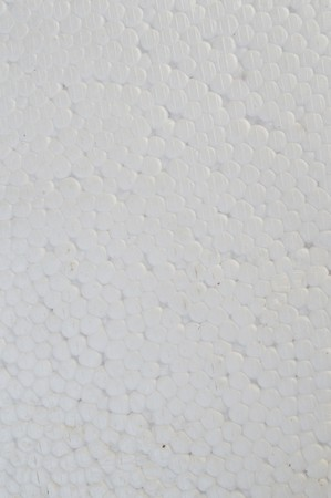 Foam plastic texture for background Stock Photo