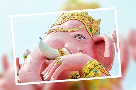 Photo Ganesh statue