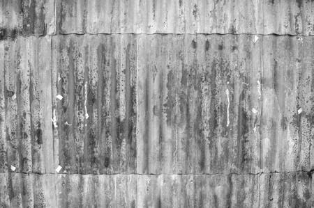 zinc wall texture background  black  white color tone