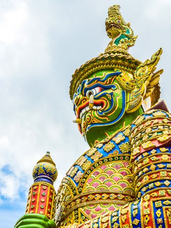 giant statue in Thailand Stock Photo