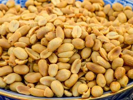 monkey nut: peanut Stock Photo